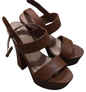 Bamboo Brown Platforms