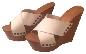 Mossimo Supply Co. White Wedges