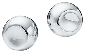 Tiffany & Co. Elsa Peretti Round clip earrings in sterling silver