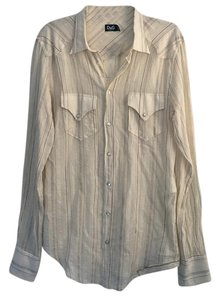 Dolce&Gabbana Button Down Shirt Ivory