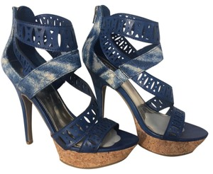 Unlisted by Kenneth Cole Blue Platforms