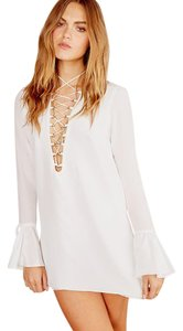 Stone Cold Fox Free People Lace Up Pirate Dress