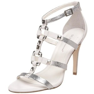 BCBGeneration Gladiator Cocktail Silver Sandals
