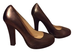 Cole Haan Bronze Pumps