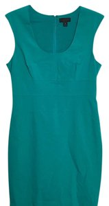 Worthington short dress Teal green on Tradesy