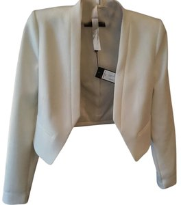BCBGMAXAZRIA New With Tags White Blazer