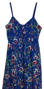 Nicole short dress Blue multi on Tradesy