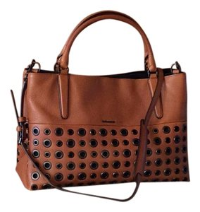 Coach Leather Satchel in Brown