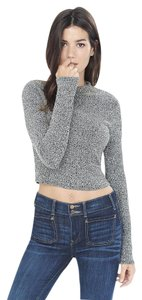 Express Long Sleeve Cropped Sweater