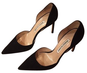 Manolo Blahnik Pump D'orsay Black Pumps