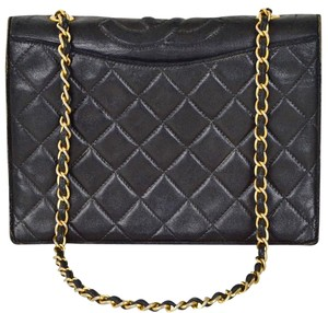 Chanel Single Flap Clutch Shoulder Bag