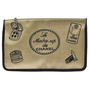 Chanel Chanel Le Make Up De Chanel Vanity Cosmetic Make Up Case Bag Pouch