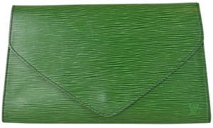 Louis Vuitton Arts Deco Green Clutch