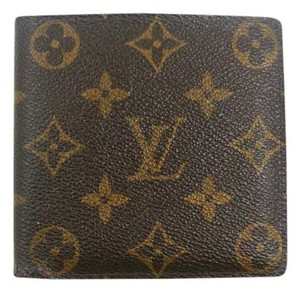 Louis Vuitton Vintage Marco Monogram Canvas Leather Bifold Wallet
