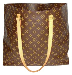 Louis Vuitton Neverful Cabas Alto Gm Shopping Tote Shoulder Bag