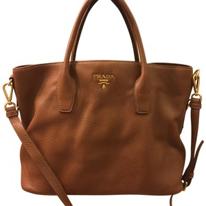 Prada Satchel in Brandy