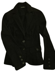 Eddie Bauer 2-button Denim Black Blazer