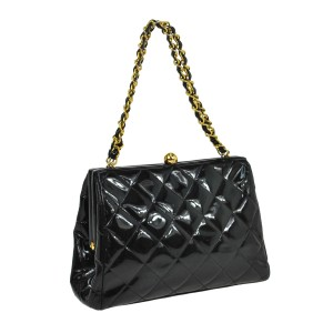 Chanel Vintage Satchel Shoulder Bag