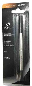 Parker Black Rooller Ball Pen Refill Medium Point
