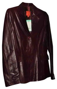 John Carlisle Brown Leather Jacket