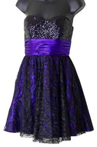 Masquerade Size 5/6 Sequin Lace Dress