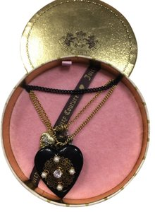 Juicy Couture Juicy Couture Layered Heart Locket Necklace