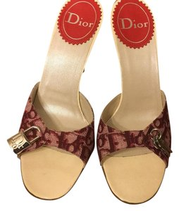 Dior Red and white Sandals