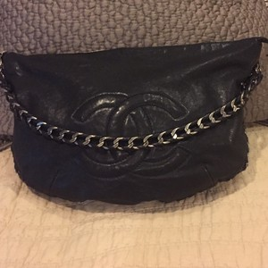 Chanel Lambskin Luxury Ligne Hobo Shoulder Bag