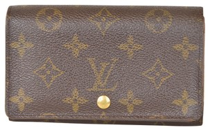 Louis Vuitton Monogram Portefeuille Tresor Wallet With Zippered Compartment M60825