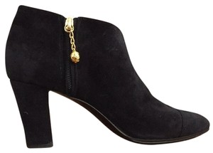 Chanel Vintage Bootie Black Boots