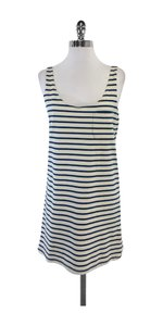 Joie short dress Blue White Striped Tank on Tradesy