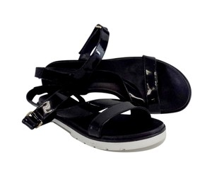 Kate Spade Black Patent Leather Sandals