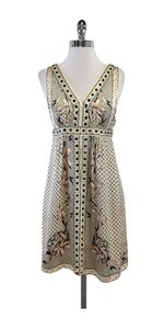 Nanette Lepore short dress Antique White Blush Silk on Tradesy
