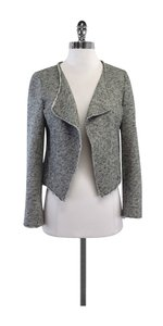 Derek Lam Grey Heathered Cotton Jacket