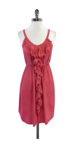 Rebecca Taylor short dress Pink Diamond Print Silk on Tradesy