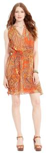Lauren Ralph Lauren short dress Orange on Tradesy