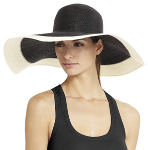 BCBGMAXAZRIA Two Tone Floppy Hat