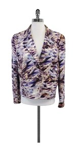 Escada Multi Color Fantasy Print Blazer