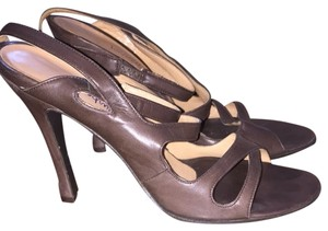 Burberry Prorsum Vintage Leather Brown Sandals