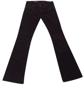 AG Adriano Goldschmied Boot Cut Pants Brown