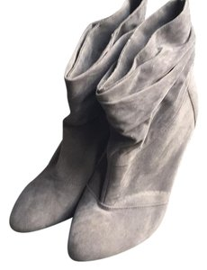 Fusion Jeans Suede Grey Boots