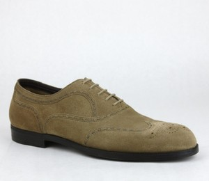 Bottega Veneta Men's Suede Lace-up Oxford Dress Shoe It 45/ Us 12 298737 2713