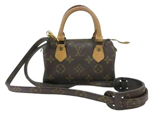 Louis Vuitton Monogram Mini Speedy Cross Body Bag