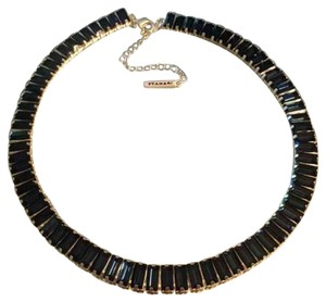 T Tahari Morrocan Blue Coller Necklace