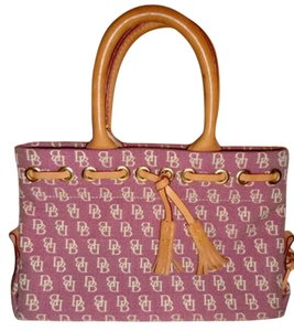 Dooney & Bourke Tote Rose Handbag Pink Clutch