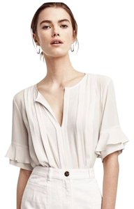 Ann Taylor Ivory Top Ivory/Winter White