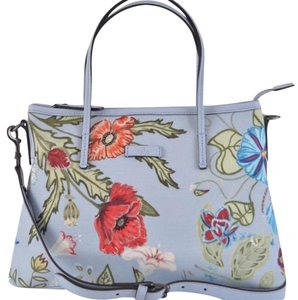 Gucci Floral Satchel Cross Body Bag