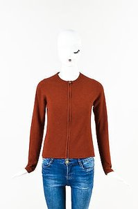 Hermès Hermes Rust Cashmere Knit Sweater
