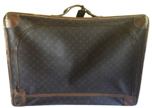 Louis Vuitton Vintage Leather monogram Travel Bag