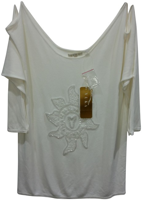 Item - White H27739m Blouse Size 10 (M)